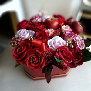 Flower box z kwiatami Podarunek nr 327