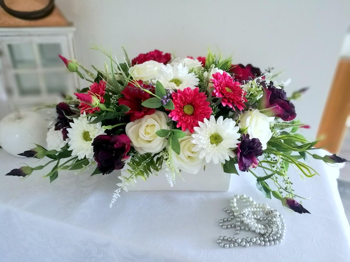 Kompozycja kwiatowa Słodkie chwile nr 339