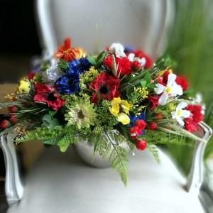 Kompozycja kwiatowa Swojska łąka nr 345