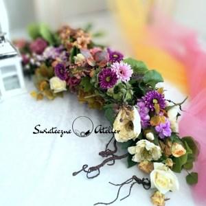 Girlanda kwiatowa Nostalgia nr 412