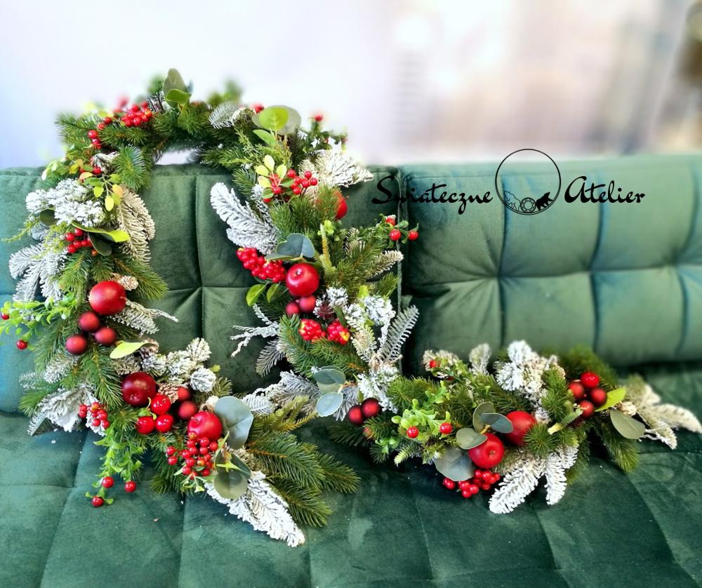 Girlanda świąteczna Klasyczne Święta nr 404
