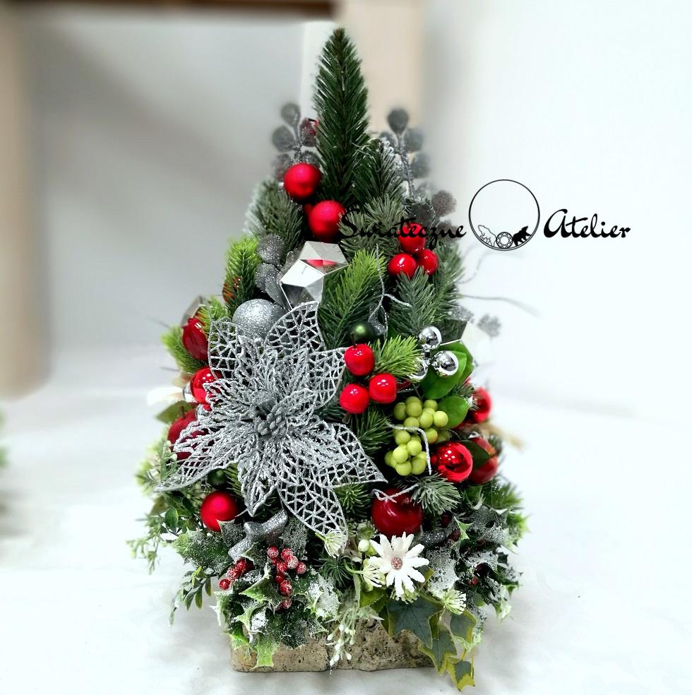 Choinka Klasyczne Święta nr 423