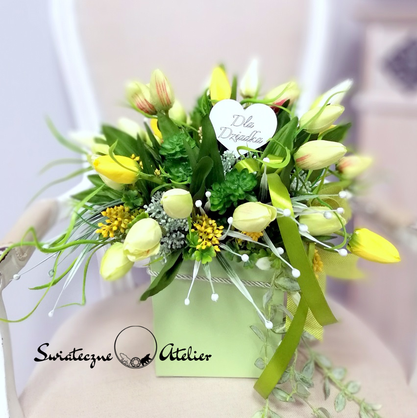 Flower box Wiosenny czas nr 418