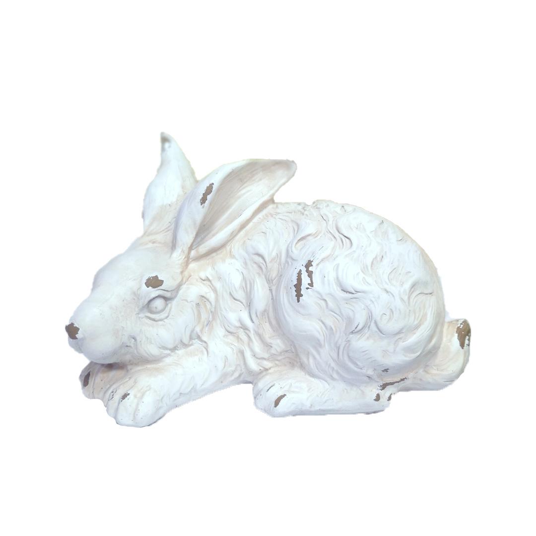 Figurka królika postarzana