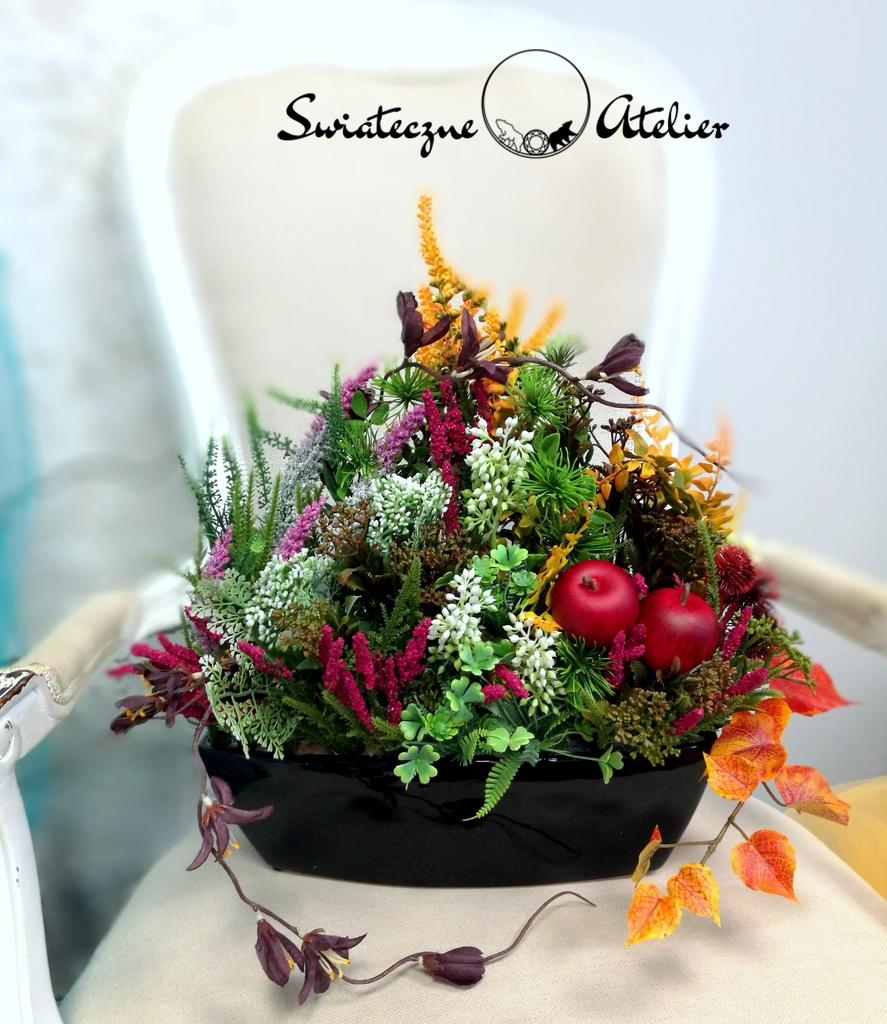 Jesienna kompozycja kwiatowa Energia nr 529