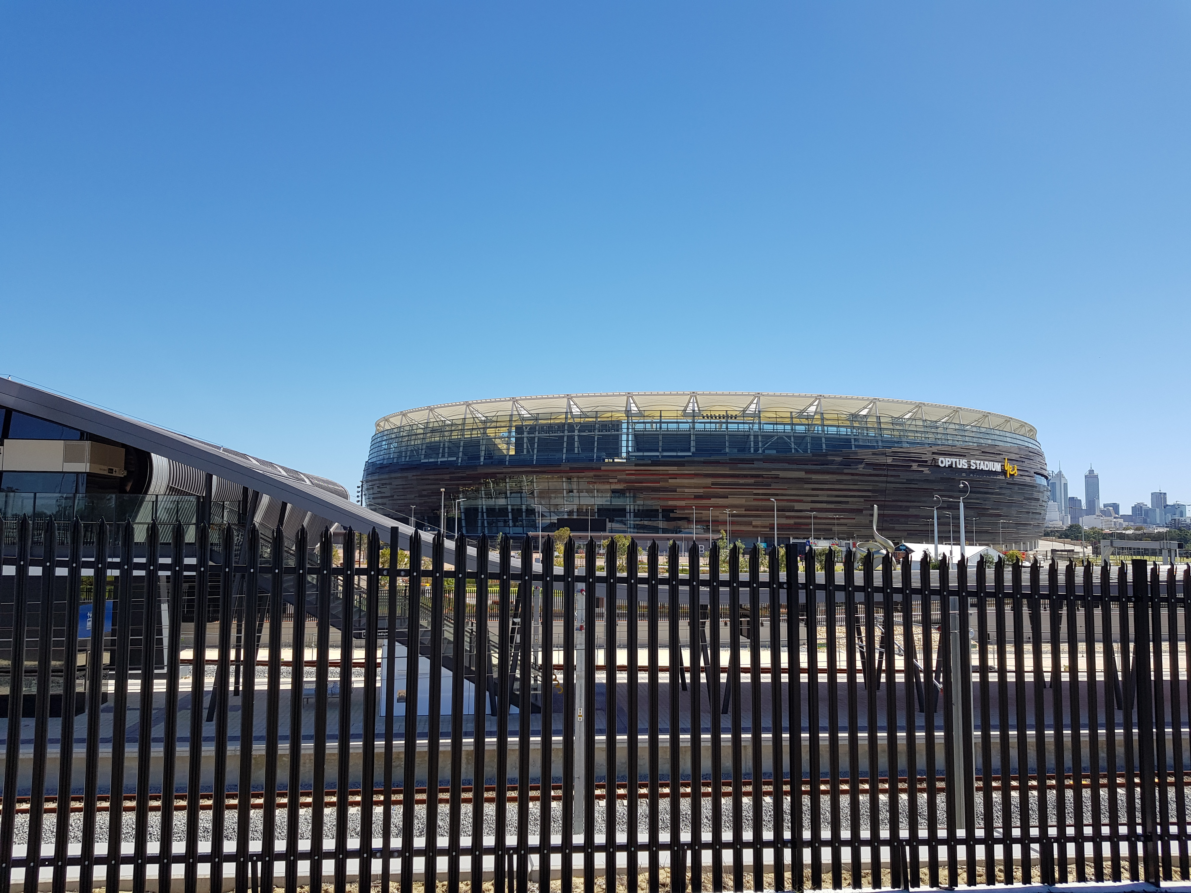 Palisade Fence, Optus Stadium