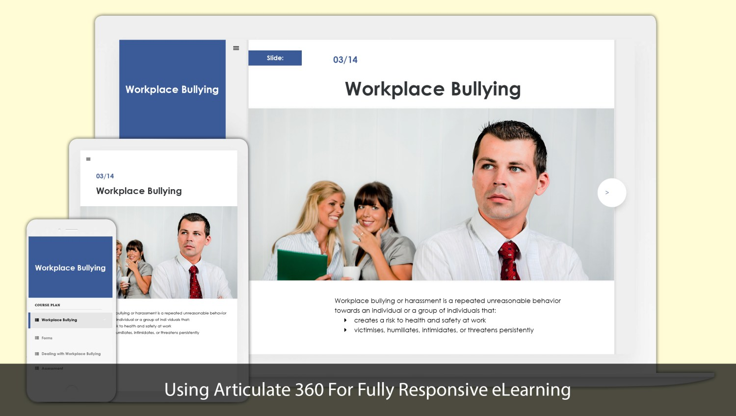 Articulate 360 eLearning Responsive