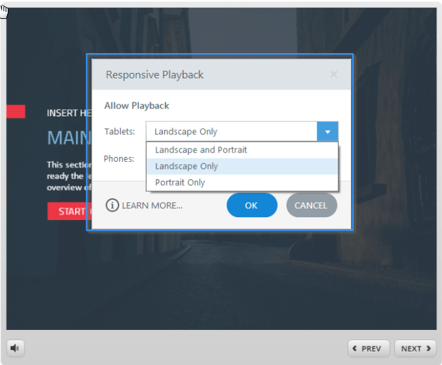 Responsive Playback Restrictions