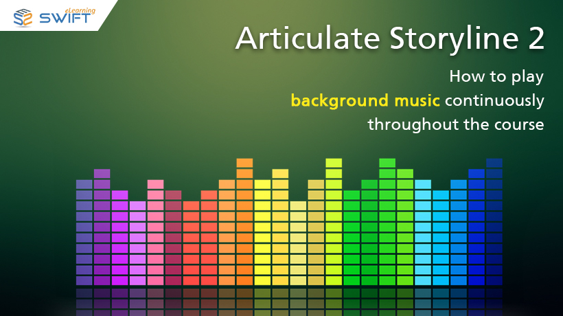 How to play background music continuously throughout the