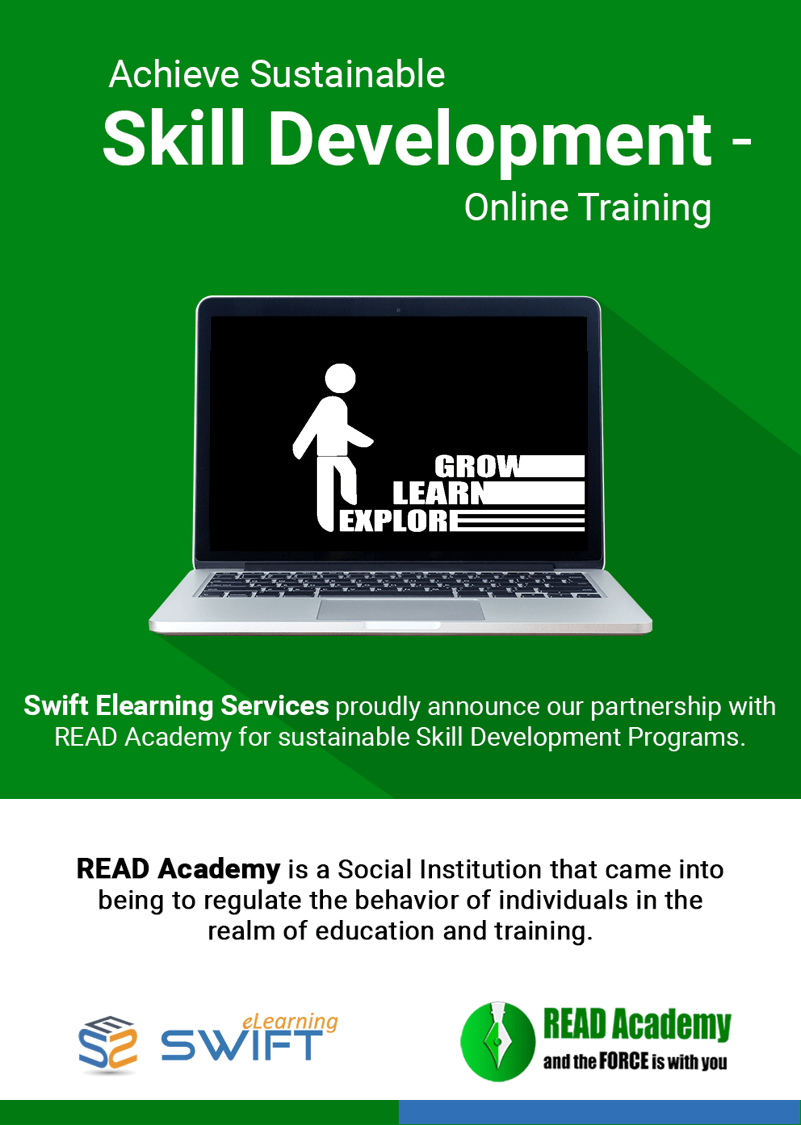 Achieve Sustainable Skill Development-Online Training-Swiftelearning