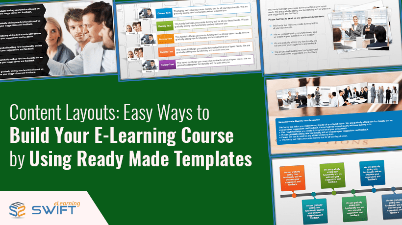 Articulate Storyline 3: 6 Content templates to Build Your E-learning Course