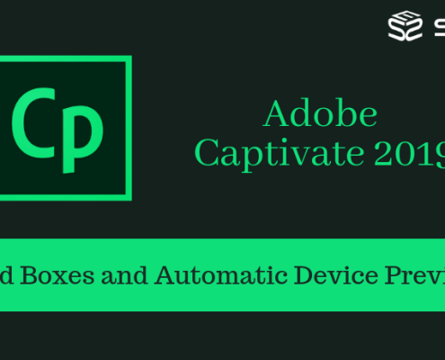 Adobe Captivate 2019-Fluid Boxes and Automatic Device Preview