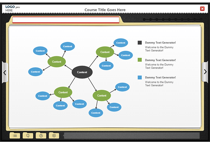 Articulate Storyline Interactive Charts and Graphic Templates