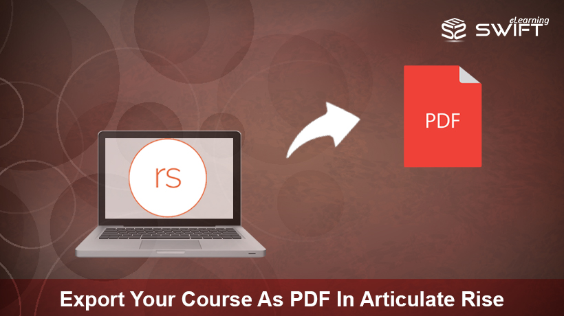 Export Your Course As PDF In Articulate Rise