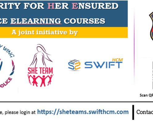 Swift elearning services - She teams awareness courses Launch program