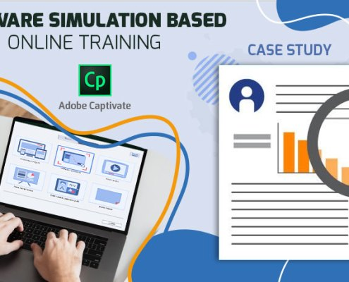 Software simulation based online training – Adobe Captivate