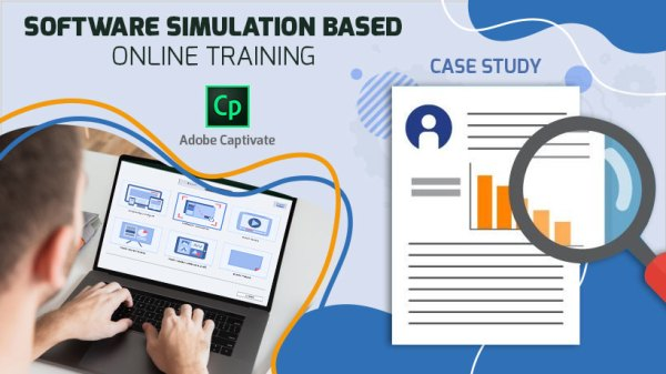 Software simulation based online training – Adobe Captivate