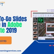 Steps to create an eLearning Course Using Ready-To-Go Slides feature - Adobe Captivate 2019