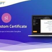 Custom elearning - Print Custom Certificate using Javascript in Articulate Storyline