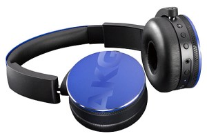 AKG Y50BT Blue Headphones