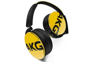 AKG Y50BT Yellow Headphones