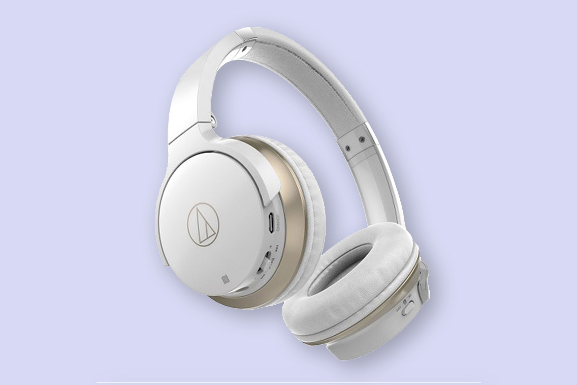 Audio Technica ATH-AR3BT White Wireless Headphones