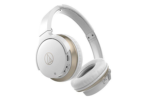 Audio Technica ATH-AR3BT White Bluetooth Headphones