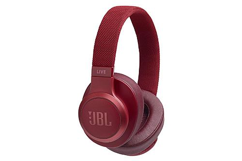 JBL Live 500BT Headphones Red