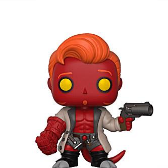 Funko Pop Conan O'Brien 17 Hellboy Conan
