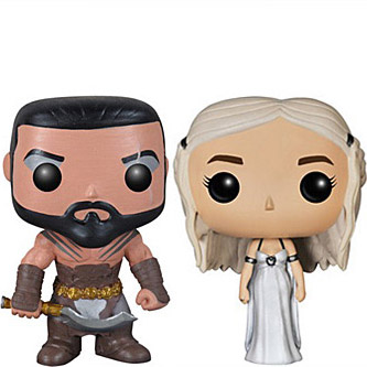 2 Pack Khal and Khaleesi