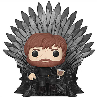 Funko Pop Game of Thrones 71 Tyrion Lannister on the Iron Throne