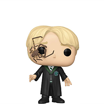 Funko Pop Harry Potter 117 Draco Malfoy with Whip Spider