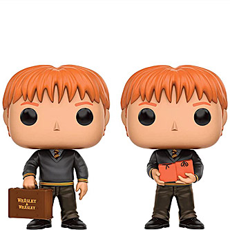 Funko Pop Harry Potter 2 Pack Fred and George Weasley