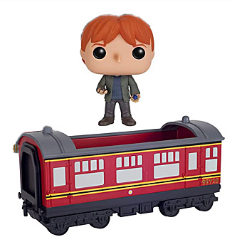 Funko Pop Harry Potter 21 Hogwarts Express Carriage with Ron Weasley