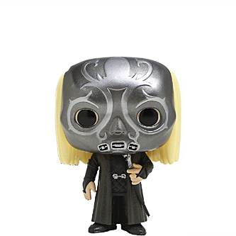 Funko Pop Harry Potter 30 Lucius Malfoy wearing Death Eater Mask