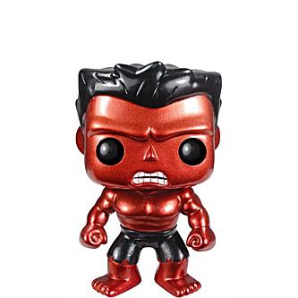 Funko Pop Marvel 31 Red Hulk Metallic