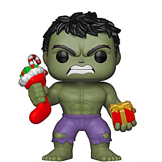 Funko Pop Marvel 398 Hulk Christmas