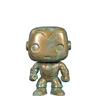 Funko Pop Marvel 80th Anniversary 498 Iron Man Patina