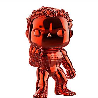 Funko Pop Marvel Avengers Endgame 499 Hulk Red Chrome
