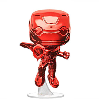 Funko Pop Marvel Avengers Infinity War 285 Iron Man Red Chrome