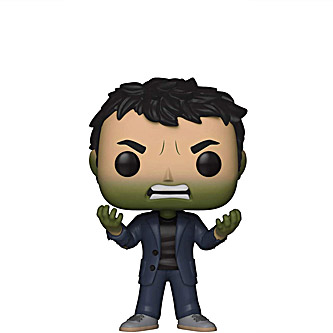 Funko Pop Marvel Avengers Infinity War 419 Bruce Banner turning into Hulk