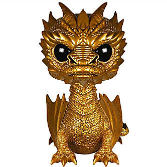 Funko Pop The Hobbit 124 Smaug Dragon Gold