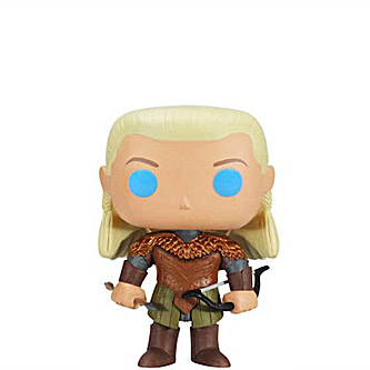 Funko Pop The Hobbit 46 Legolas Greenleaf Blue Eyes