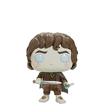 Funko Pop The Lord of the Rings 444 Frodo Baggins Glow in the Dark Limited Chase Edition