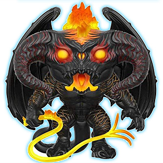 Funko Pop The Lord of the Rings 448 Balrog Glow in the Dark