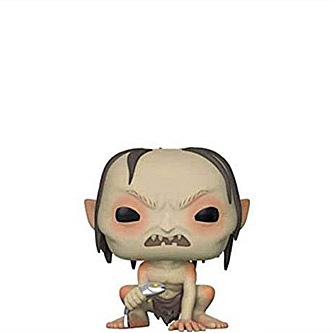 Funko Pop The Lord of the Rings 532 Gollum with Fish Limited Chase Edition