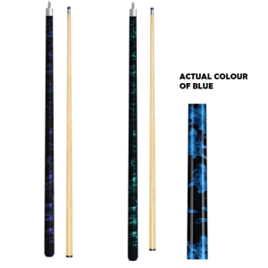 "2 PIECE CUE 57"" - MARBLE - 57"" 10MM TIP"