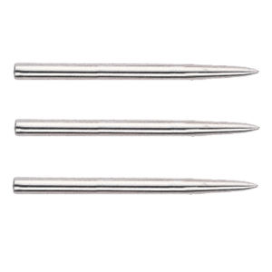 NICKEL PLATED DART POINTS - 32, 38 & 44mm