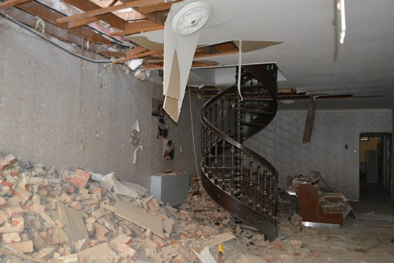 home renovation clean up