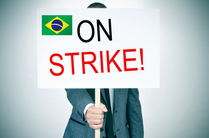 Brazil Consulate on Strike
